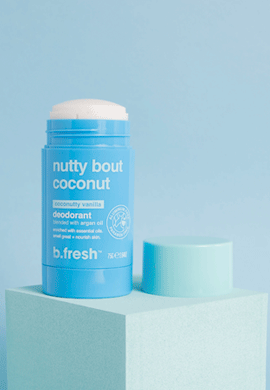 nutty bout coconut deodorant
