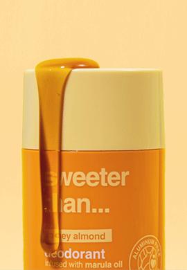 sweeter than... honey almond deodorant