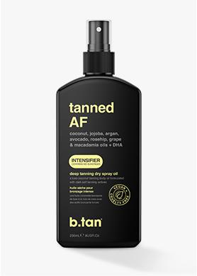 tanned AF... intensifier tanning oil